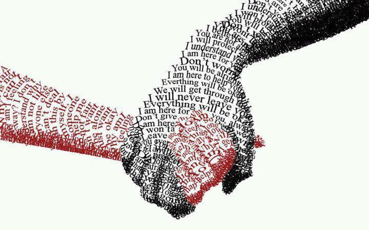 words hands